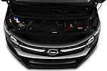 Car stock 2020 Opel Vivaro Innovation 4 Door Combi engine high angle detail view