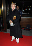Angela Rippon at the Ray Burmiston fundraising exhibition, at The Athenaeum Hotel, London. 05.02.1