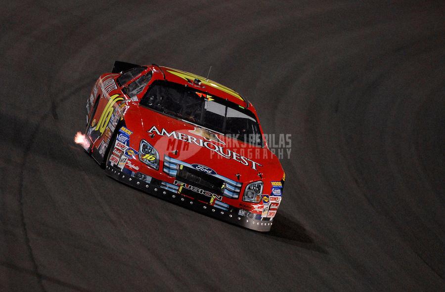 Sept. 2, 2006; Fontana, CA, USA; Nascar Busch Series driver Mark Martin (6) during the Ameriquest 300 at California Speedway. Mandatory Credit: Mark J. Rebilas