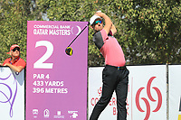 Alexander Bjork (SWE) in action during the second round of the Commercial Bank Qatar Masters, Doha Golf Club, Doha, Qatar. 08/03/2019<br /> Picture: Golffile | Phil Inglis<br /> <br /> <br /> All photo usage must carry mandatory copyright credit (&copy; Golffile | Phil Inglis)