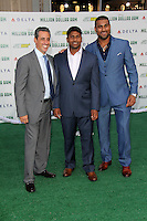 J.B. Bernstein, Dinesh Patel, Rinku Singh<br />