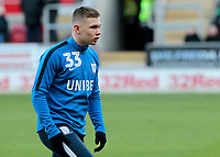 Preston North End's Ethan Walker during the pre-match warm-up <br /> <br /> Photographer David Shipman/CameraSport<br /> <br /> The EFL Sky Bet Championship - Rotherham United v Preston North End - Tuesday 1st January 2019 - New York Stadium - Rotherham<br /> <br /> World Copyright © 2019 CameraSport. All rights reserved. 43 Linden Ave. Countesthorpe. Leicester. England. LE8 5PG - Tel: +44 (0) 116 277 4147 - admin@camerasport.com - www.camerasport.com