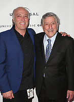 LOS ANGELES, CA - FEBRUARY 10: Danny Bennett, Tony Bennett, at theUniversal Music Group Grammy After party celebrating th 61st Annual Grammy Awards at The Row in Los Angeles, California on February 10, 2019. Credit: Faye Sadou/MediaPunch