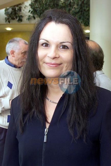 Art teacher Una Barrett pictured at the Ardee CC art exhibition at Bru na Boinne..Picture: Arthur Carron/Newsfile