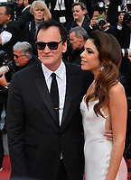 "CANNES, FRANCE. May 21, 2019: Quentin Tarantino & Daniela Pick at the gala premiere for ""Once Upon a Time in Hollywood"" at the Festival de Cannes.<br /> Picture: Paul Smith / Featureflash"