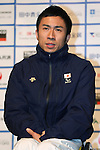Kozo Kubo (JPN), DECEMBER 24, 2013 - Cross Country Skiing : Sochi Paralympics Japanese team first-order announcement press conference at Nihonbashi Hamacho F Tower Plaza, Tokyo, Japan. (Photo by AFLO SPORT)