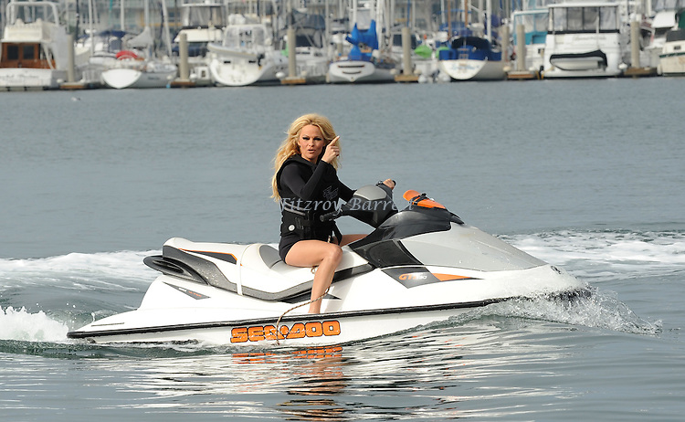 Press Conference with Pamela Anderson on the Sea shepherd SSS Brigitte Bardot docked at Marina del Rey CA. November 2, 2012.