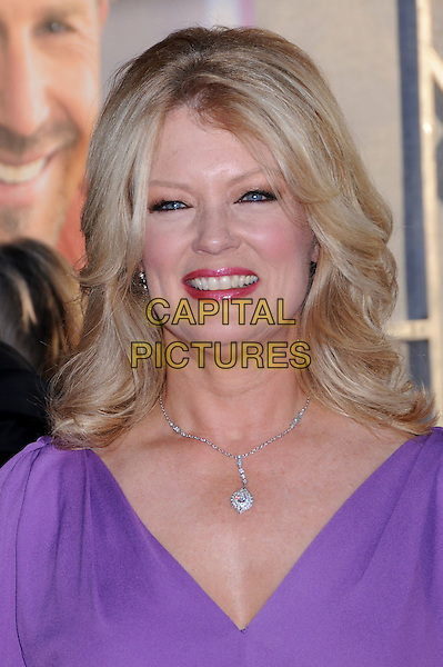 "MARY HART.""Swing Vote"" Los Angeles Premiere at the El Capitan Theatre,Hollywood, California, USA..July 24th, 2008.headshot portait purple diamond necklace .CAP/ADM/BP.©Byron Purvis/AdMedia/Capital Pictures."