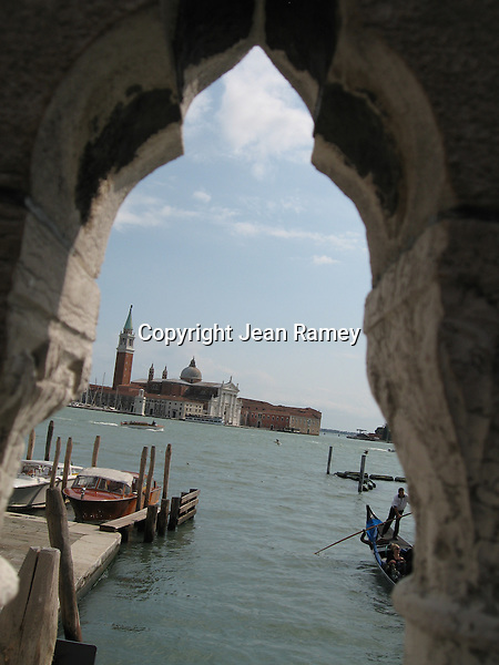 View of San Giorgio Maggiore from the Doge's Palace - Venice
