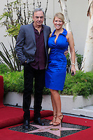 LOS ANGELES - AUG 10: Neil Diamond, wife Katie McNeil at a ceremony honoring Neil Diamond with the 2,475th Star on the Hollywood Walk of Fame on August 10, 2012 in Los Angeles, California