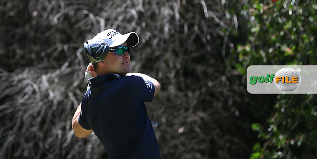 Paul Maddy (ENG) drives the 13th during Round Two of the Tshwane Open 2015 at the Pretoria Country Club, Waterkloof, Pretoria, South Africa. Picture:  David Lloyd / www.golffile.ie. 13/03/2015