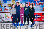 Sheila Breen, Mark Hopkins, Kira Kelleher, Denis McCarthy and Nikita Lenihan enjoying ice skating at the Killarney On Ice last Friday evening.