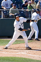 July 18, 2010: Everett AquaSox's Kevin Mailloux (10) at bat during a Northwest League game against the Eugene Emeralds at Everett Memorial Stadium in Everett, Washington.