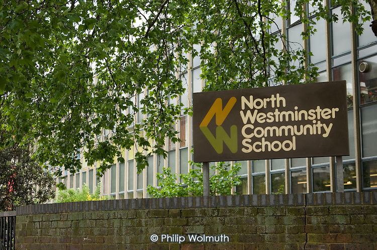 North Westminster Community School, in Marylebone, London, is scheduled for closure and replacement by a City Academy.