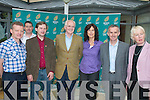 GREENS: Members of the Green Party parliamentary party at the Fels Point Hotel last Thursday during their two-day meeting, with Tralee local election candidate David Grey (third from left).   Copyright Kerry's Eye 2008