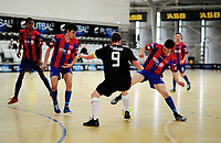Action from the 2017 Futsal National League round one match between the Central Futsal Manawatu and WaiBoP at the ASB Sports Centre in Wellington, New Zealand on Sunday, 26 November 2017. Photo: Dave Lintott / lintottphoto.co.nz
