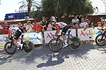 Lotto-Soudal recon Stage 1 of La Vuelta 2019, a team time trial running 13.4km from Salinas de Torrevieja to Torrevieja, Spain. 24th August 2019.<br /> Picture: Eoin Clarke | Cyclefile<br /> <br /> All photos usage must carry mandatory copyright credit (© Cyclefile | Eoin Clarke)