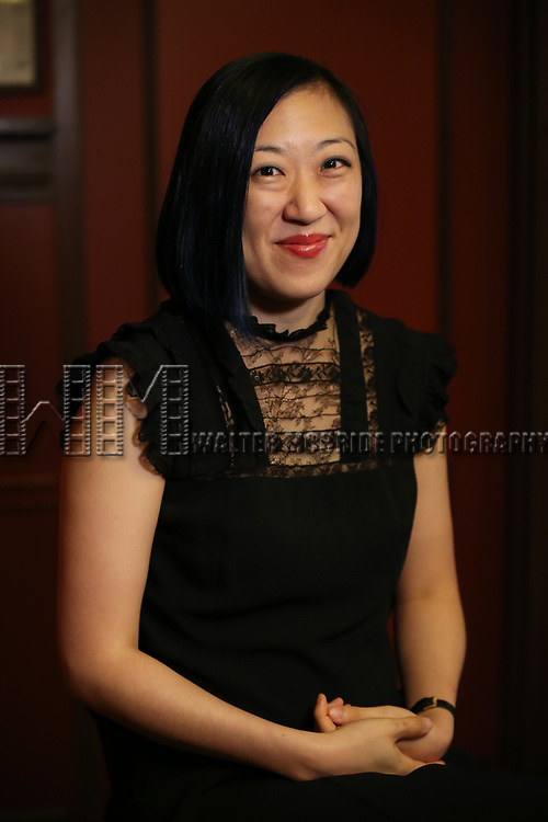 Young Jean Lee attends photo call for the Second Stage Theatre Company production of 'Straight White Men'  at Sardi's on June 14 30, 2018 in New York City.