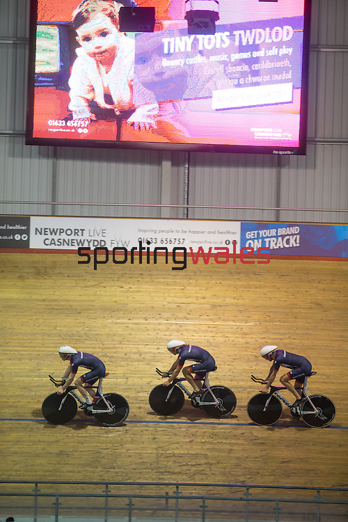 GB Rio Olympics Track Cycling team training session.<br /> Wales National Velodrome<br /> 23.07.16<br /> ©Steve Pope Fotowales