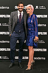 Alex Garcia and Veronica Echegui attend the photocall of the Cosmopolitan Fun Fearless Female 2014 Awards at the Ritz Hotel in Madrid, Spain. October 20, 2014. (ALTERPHOTOS/Carlos Dafonte)