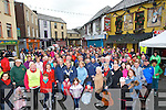WALK:A large crowd gathered outside Kirby's Brogue Inn, Tralee on St Stephen's morning for the annaul Bill Kirby Walk in aid of Cancer.