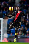 Luis Advincula of Rayo Vallecano in action during the La Liga 2018-19 match between Real Madrid and Rayo Vallencano at Estadio Santiago Bernabeu on December 15 2018 in Madrid, Spain. Photo by Diego Souto / Power Sport Images