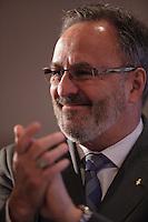 FTQ President Daniel Boyer<br />  April 22, 2016.<br /> <br /> Photo : Pierre Roussel - Agence Quebec Presse<br /> <br /> <br /> <br /> <br /> <br /> <br /> <br /> <br /> .