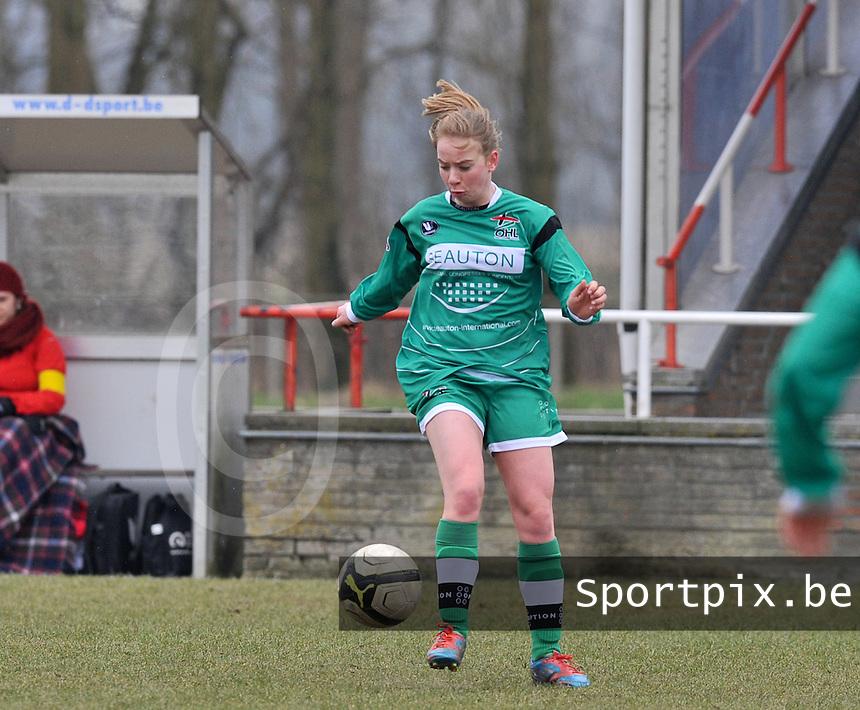 Club Brugge Dames - OHL Oud Heverlee Leuven : Lotte Michiels .foto DAVID CATRY / Vrouwenteam.be