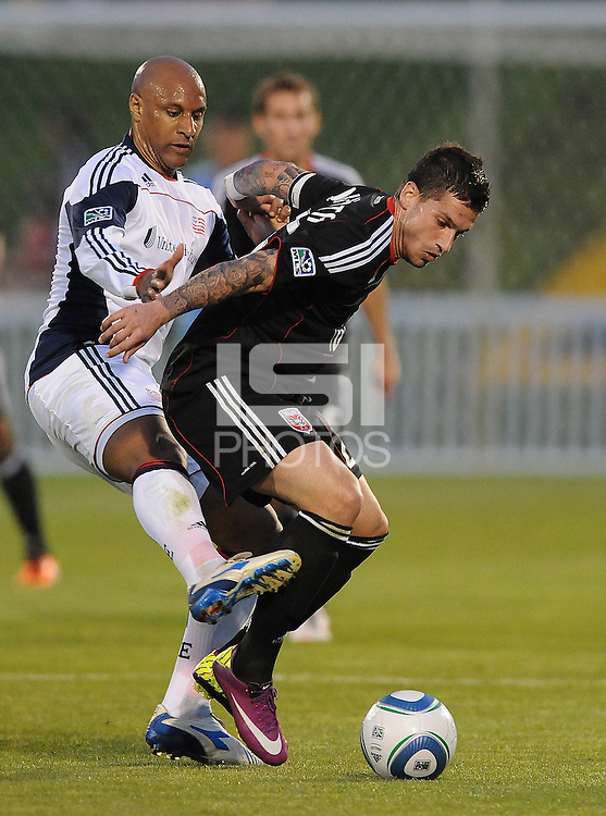 DC United midfielder Santino Quaranta (25)   The New England Revolution defeated DC United 3-2 in US Open Cup match , at the Maryland SoccerPlex, Tuesday  April 26, 2011.