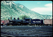 Fireman's-side view of D&amp;RGW #452 in the Durango yards.<br /> D&amp;RGW  Durango, CO