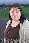 Dromid Pearses GAA club Treasurer Suzanne Ní Laoighre