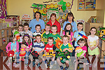 Staff and Children at the Nai Ionad Na Cille childcare centre on Thursday.Front Row Alazne Sertutxa, Sarah Cremins, Ryan Nagle, Marc Murphy.Tadgh Evans, Carla Evans. .2nd Row, Ellen Grifffin, Marcus Lavery, Evan O Connor, Fionan Griffin, Liam Evans, Shauna O Brien, Luke Benson, Cianna Foley..Back Row, Susan O Sullivan, Joanne O Connor, Rita Murphy..