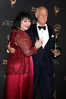 LOS ANGELES - SEP 9:  Delta Burke, Gerald McRaney at the 2017 Creative Emmy Awards at the Microsoft Theater on September 9, 2017 in Los Angeles, CA