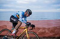 Quinten Hermans (BEL/Telenet Fidea Lions)<br /> <br /> Men's Elite race <br /> <br /> UCI 2019 Cyclocross World Championships<br /> Bogense / Denmark<br /> <br /> <br /> ©kramon