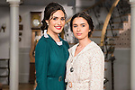 """Yara Puebla and Giulia Charm during the presentation of the new characters for the new season of the tv series """"El Secreto de Puente Viejo""""  in Madrid, February 10, Madrid."""