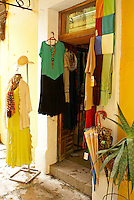 Clothing boutique  in San Miguel de Allende, Mexico. San Miguel de Allende is a UNESCO World Heritage Site....