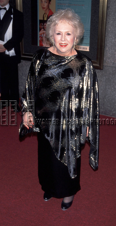 Doris Roberts attends the <br /> 55th Annual Tony Awards qt Radio City Music Hall in New York City on<br /> 6/3/01.