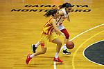 Catalunya vs Montenegro: 83-57.<br /> Roso Buch vs Dragana Zivkovic.
