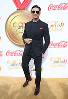 WEST HOLLYWOOD, CA - JANUARY 6: Hugh Jackman at the Gold Meets Golden 5th Anniversary party at The House On Sunset in West Hollywood, California on January 6, 2018. <br /> CAP/MPI/FS<br /> &copy;FS/MPI/Capital Pictures