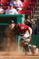 April 26 2009: Jose Yepez of the High Desert Mavericks during game against the San Jose Giants at Mavericks Stadium in Adelanto,CA.  Photo by Larry Goren/Four Seam Images