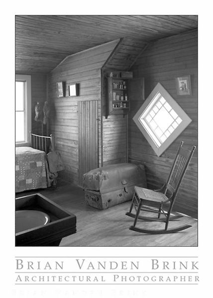 ADMIRAL PEARY'S COTTAGE<br /> BUILT 1912<br /> Eagle Island<br /> Casco Bay, Maine © Brian Vanden Brink, 2002