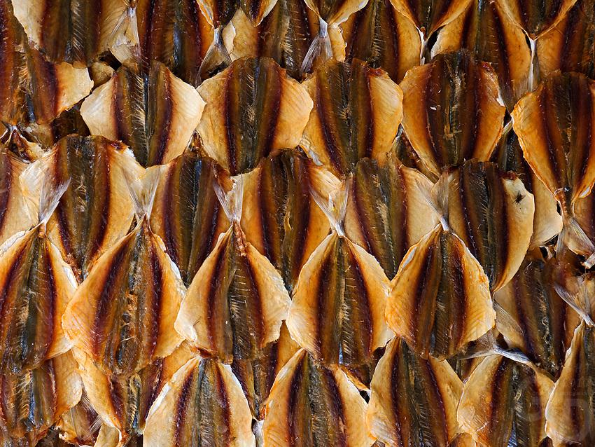 Dried Fish in a creative way, Hanoi.