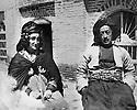 Iraq 1948.Suleimania: Sheikh Kader Barzinji and his wife Hafsa Khan   .Irak 1948 .Souleimania: Sheikh Kader Barzinji et sa femme Hafsa Khan