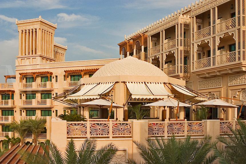 Dubai, United Arab Emirates. Al Qasr Hotel, Madinat Jumeirah.