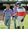 Maxime Denault before The Longines World Fegentri Championship for Gentlemen Riders at Delaware Park on 9/6/14