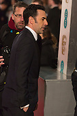 London, UK. 14 February 2016. Sasha Baron Cohen. Red carpet arrivals for the 69th EE British Academy Film Awards, BAFTAs, at the Royal Opera House. © Vibrant Pictures/Alamy Live News