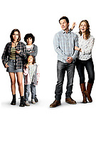 Promotional art with Isabela Moner, Mark Wahlberg, Rose Byrne, Gustavo Quiroz & Julianna Gamiz<br /> Instant Family (2018) <br /> *Filmstill - Editorial Use Only*<br /> CAP/RFS<br /> Image supplied by Capital Pictures