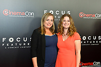 LAS VEGAS, NV - MARCH 29: Janne Hollen and Mia Niebruegge at Cinema Con 2017 Focus Features Luncheon and Studio Presentation at Caesar's Palace in Las Vegas, Nevada on March 29, 2017. Credit: Ken Howard/MediaPunch