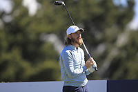 Tommy Fleetwood (ENG) on the 5th tee during Round 4 of the Betfred British Masters 2019 at Hillside Golf Club, Southport, Lancashire, England. 12/05/19<br /> <br /> Picture: Thos Caffrey / Golffile<br /> <br /> All photos usage must carry mandatory copyright credit (© Golffile | Thos Caffrey)