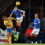 26.12.2019 Rangers v Kilmarnock: Nikola Katic and Eamonn Brophy
